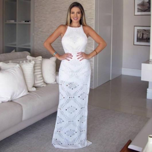 Vestidos longos para ensaio da noiva