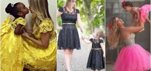 vestidos de festa tal mãe tal filha