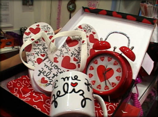 Kit personalizado para aniversário de namoro
