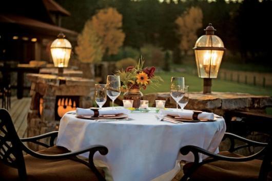 Jantar romântico para aniversário de namoro