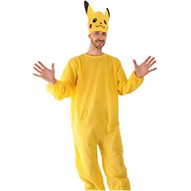 Fantasia Pikachu masculina