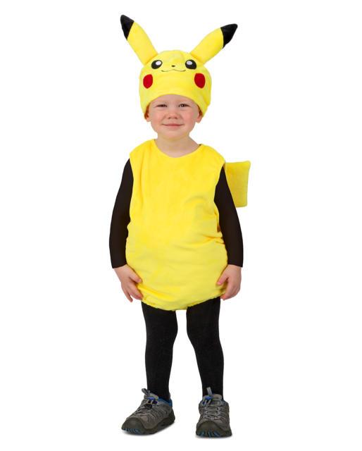 Fantasia Pikachu infantil