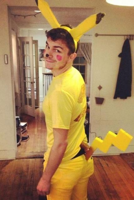 Fantasia Pikachu improvisada