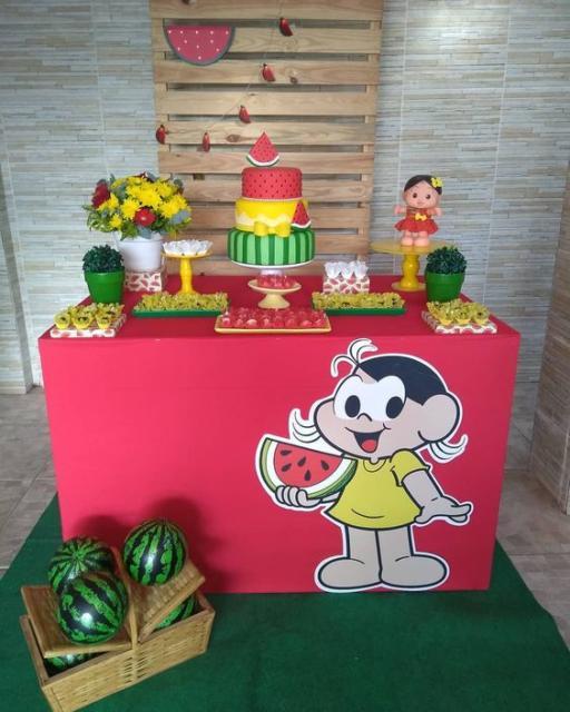 festa Magali simples