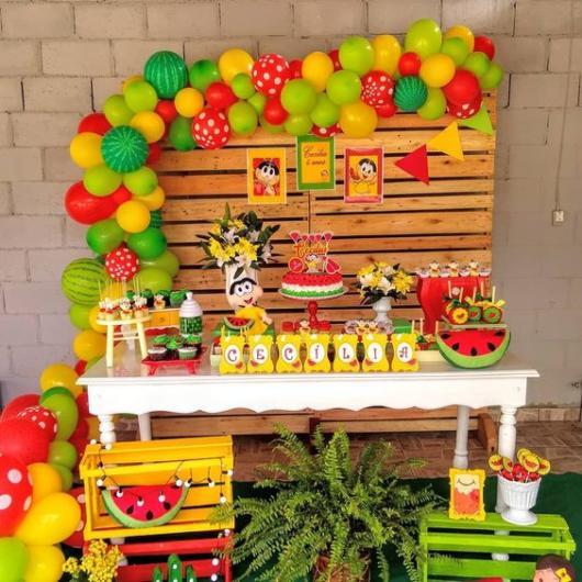 decoração provençal festa magali
