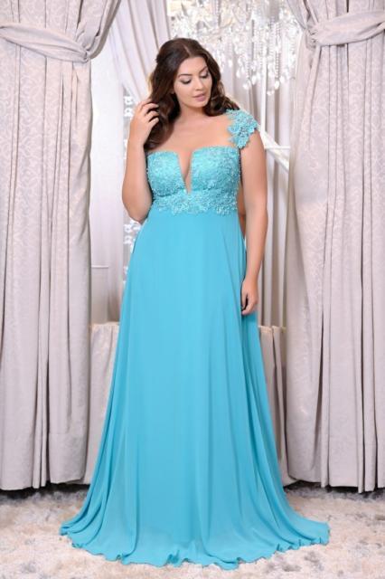 Vestido azul Tiffany para madrinhas