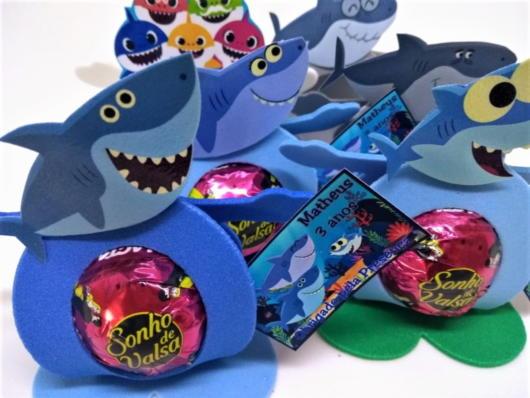 Lembrancinhas Baby Shark