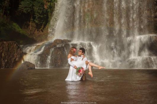 Pré-wedding: na cachoeira