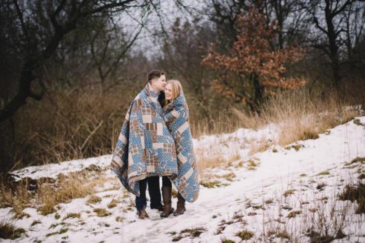 Pré-wedding: no inverno