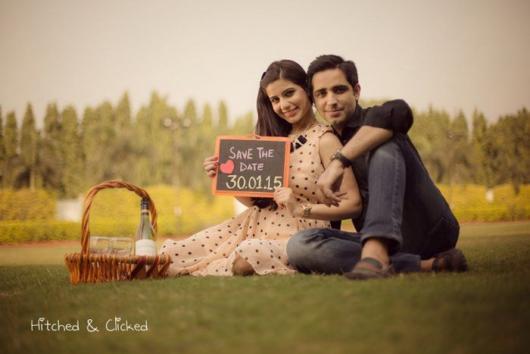 Pré-wedding: criativo com pic nic