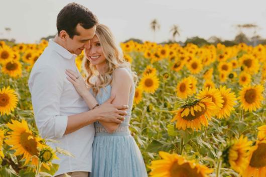Pré-wedding: em Holambra