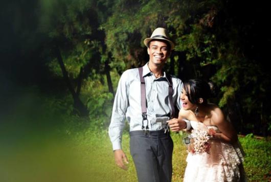 Pré-wedding retrô