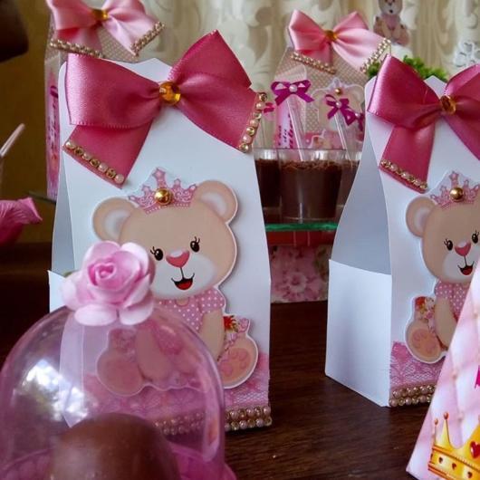 Lembrancinha de chá de bebê princesa