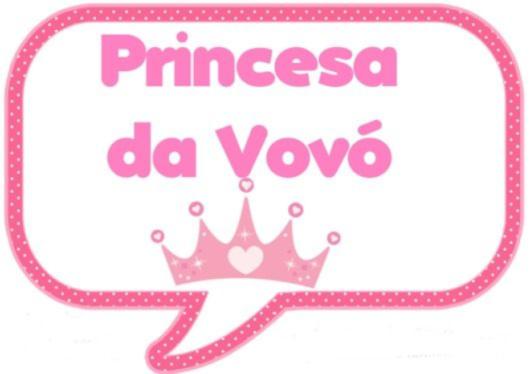 Plaquinha de chá de bebê princesa