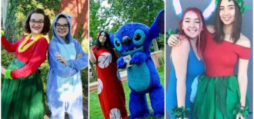 Fantasias Lilo e Stitch