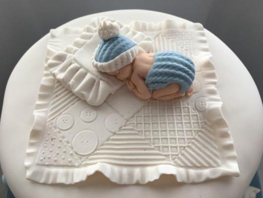 fotos de topo de bolo de batizado