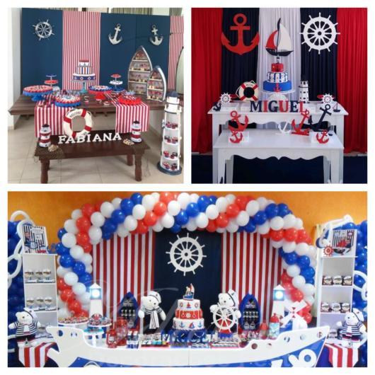 decoração marinheiro