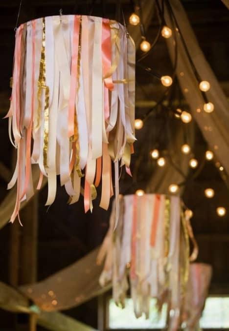 bambolês decorados com fitas