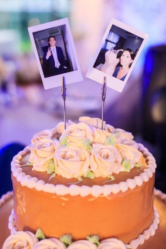 bolo para noivado com fotos