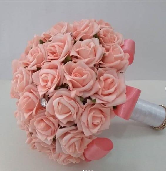 buquê de rosas de EVA