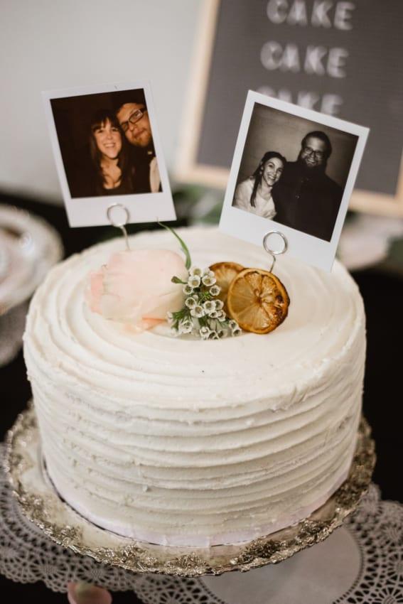 topo de bolo personalizado e simples