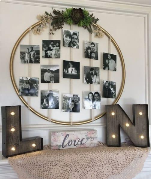 decoração para festa de noivado