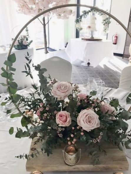 centro de mesa para casamento rústico