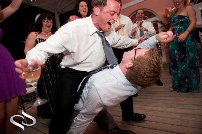 Casamento divertido com valsa maluca