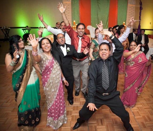 Casamento indiano com valsa maluca
