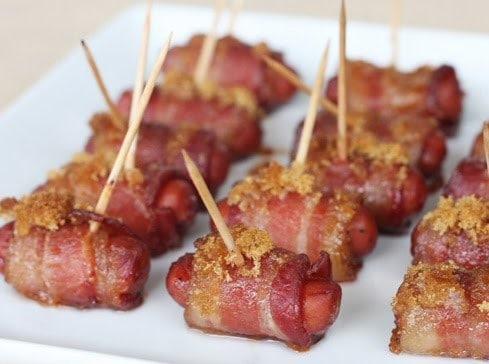 Enroladinhos de bacon