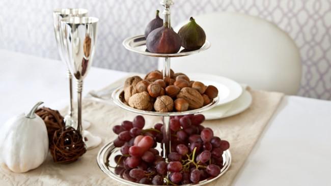 Frutas da estação no casamento rústico