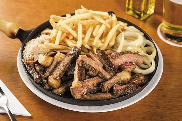 Porção de carne