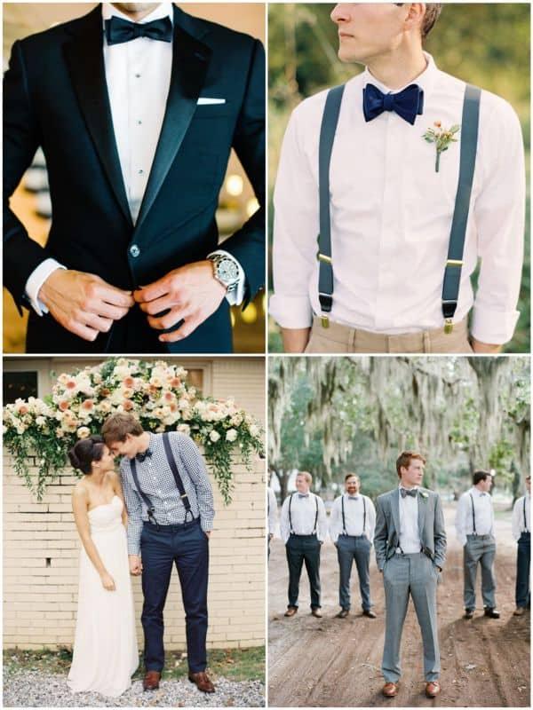 Quatro ideias de traje do noivo para casamento rústico