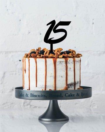 Topo de bolo básico