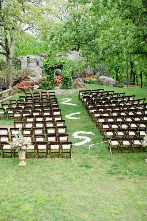 como fazer um casamento ao ar livre simples