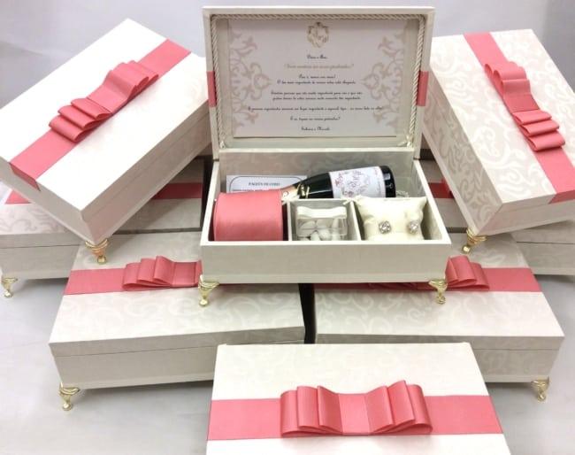 convite para padrinhos de casamento com kit