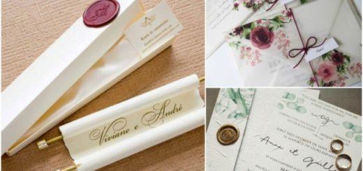 convites tradicionais para casamento 1