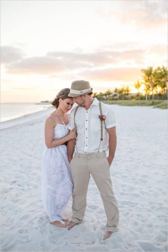 dicas de terno para casamento na praia