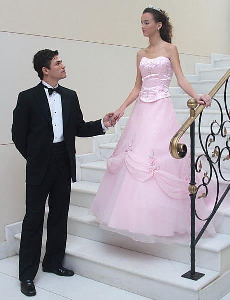 entrada da debutante na festa