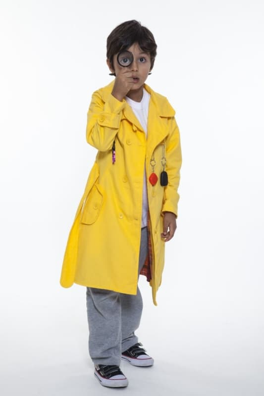 fantasia DPA amarela customizada