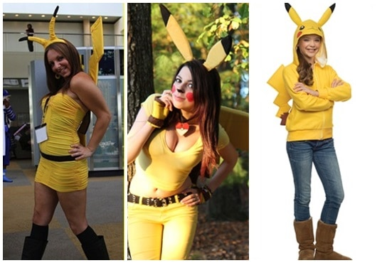 fantasia pikachu ideias
