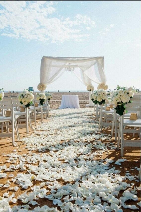 ideias de Casamento ao ar livre na praia
