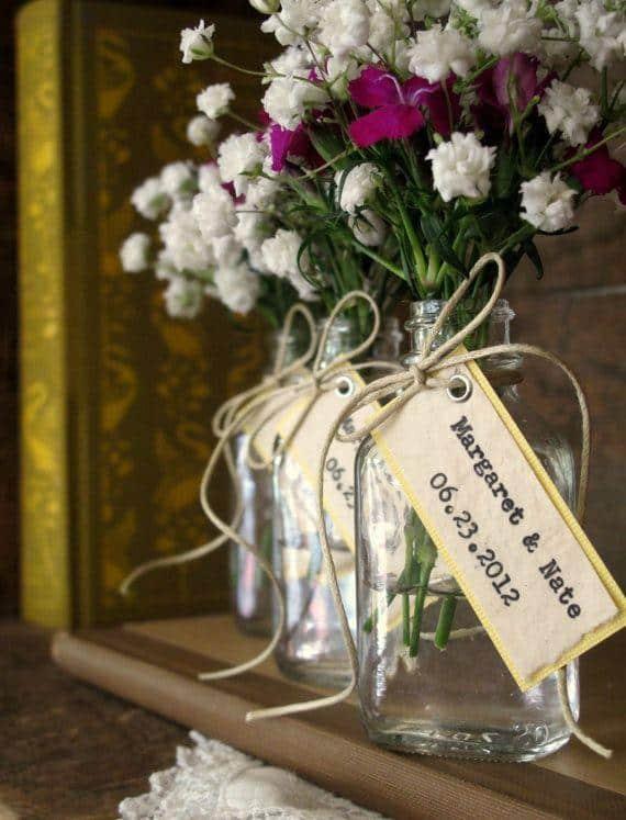 ideias de lembrancinhas para casamento ao ar livre