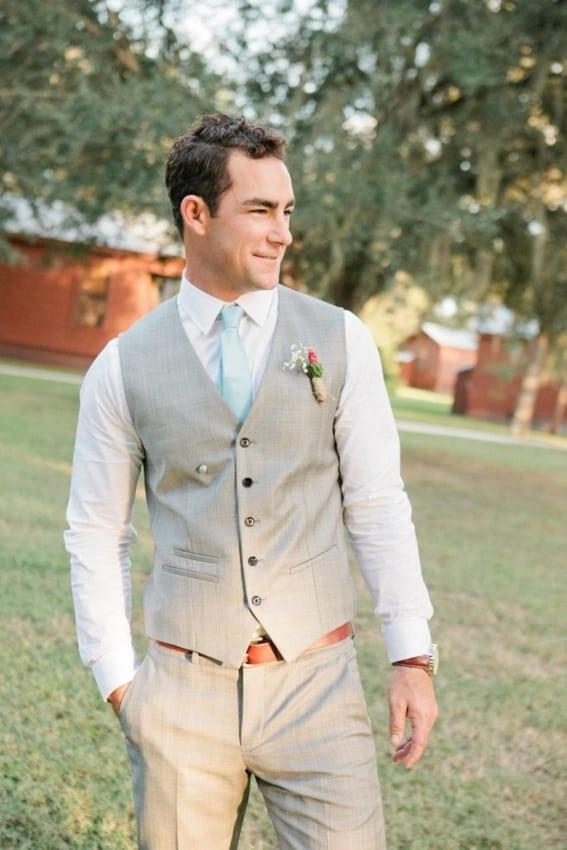 ideias de noivo para casamento ao ar livre