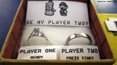 pedido de casamento criativo geek