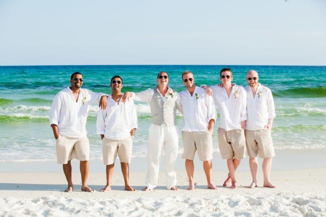 terno casamento na praia