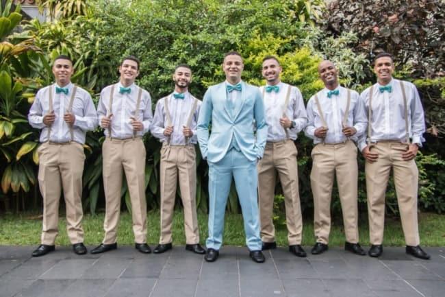 terno padrinhos de casamento