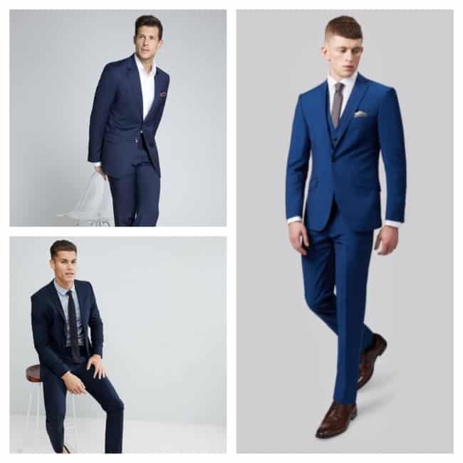 terno para casamento azul