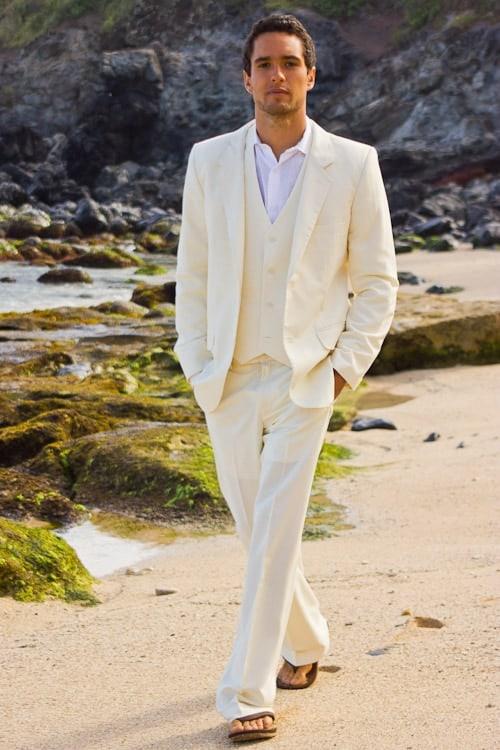 terno para casamento na praia