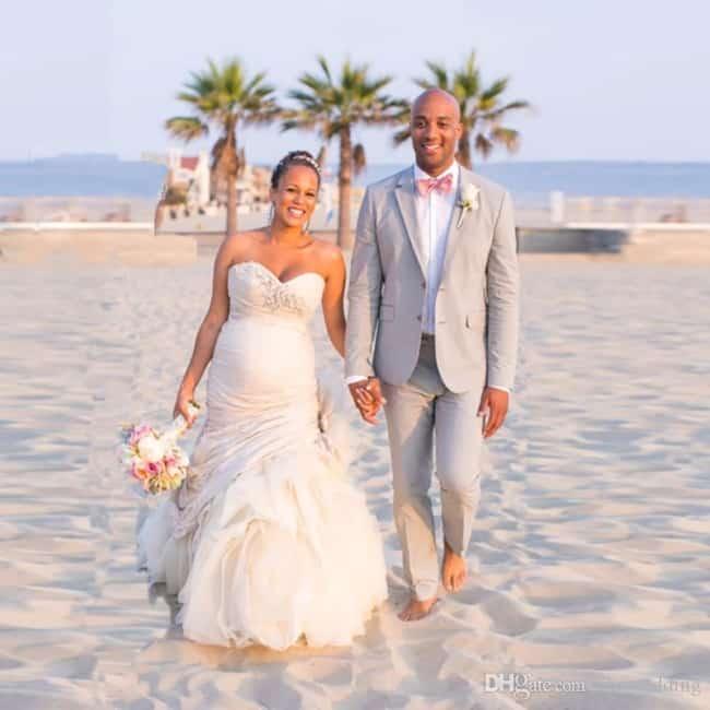 terno para casamento praiano